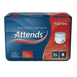 Attends Pull-Ons Plus 8 - X-Large