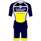 Auckland Central Cycling Club AERO Speedsuit - Short Sleeve