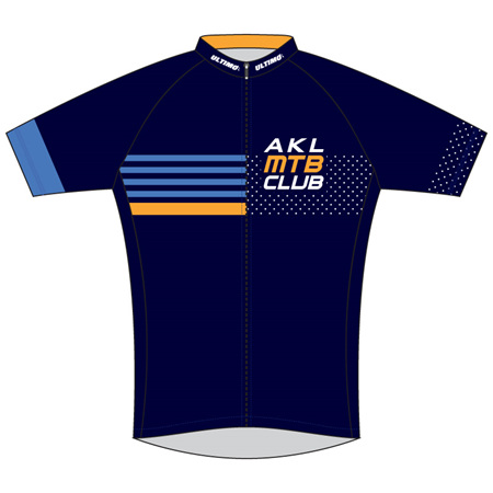 Auckland MTB Club Cycle Jersey Blue