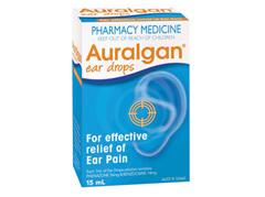 AURALGAN Ear Pain Relief Drops 15ml