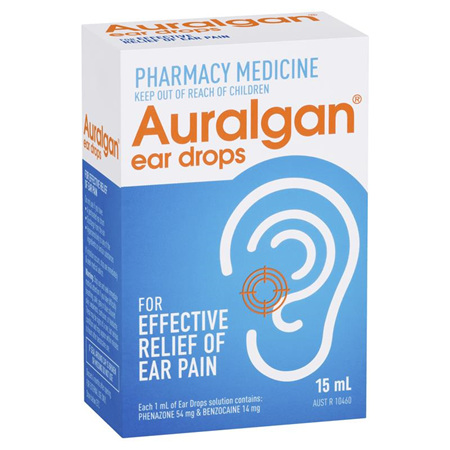 Auralgan Ear Pain Relief Drops 15ml