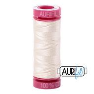 Aurifil 12wt 2026 Chalk