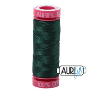 Aurifil Quilting Thread 12 wt Forrest Green 4026
