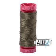 Aurifil Quilting Thread 12wt Army Green 2905