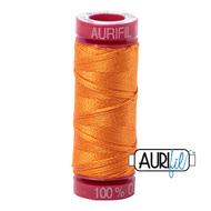 Aurifil Quilting Thread 12wt Bright Orange 1133