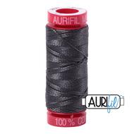 Aurifil Quilting Thread 12wt Dark Pewter 2630