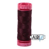 Aurifil Quilting Thread 12wt Dark Wine 2468