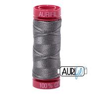 Aurifil Quilting Thread 12wt Grey Smoke 5004