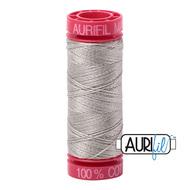 Aurifil Quilting Thread 12wt Light Grey 5021