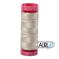 Aurifil Quilting Thread 12wt Light Military Green 5020
