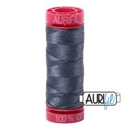 Aurifil Quilting Thread 12wt Medium Grey 1158