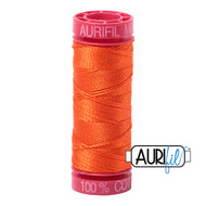 Aurifil Quilting Thread 12wt Neon Orange 1104