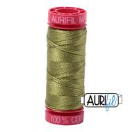 Aurifil Quilting Thread 12wt Olive Green 5016