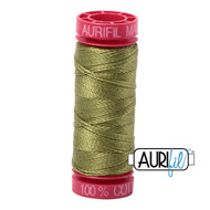 Aurifil Quilting Thread 12wt Olive Green 5016