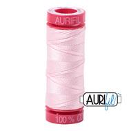 Aurifil Quilting Thread 12wt Pale Pink 2410