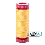 Aurifil Quilting Thread 12wt Pale Yellow 1135
