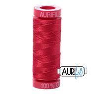 Aurifil Quilting Thread 12wt Red 2250