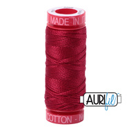 Aurifil Quilting Thread 12wt Red Wine 2260