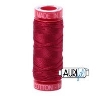 Aurifil Quilting Thread 12wt Red Wine 2260