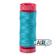 Aurifil Quilting Thread 12wt Turquoise 2810