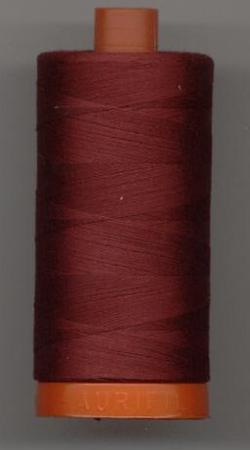 Aurifil Quilting Thread 40, 50 or 80wt Dark Carmine Red 2460
