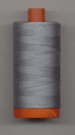 Aurifil Quilting Thread 40, 50 or 80wt Light Blue Grey 2610