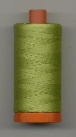 Aurifil Quilting Thread 40, 50 or 80wt Light Leaf Green 1147