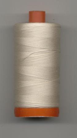 Aurifil Quilting Thread 40, 50 or 80wt Light Sand 2000