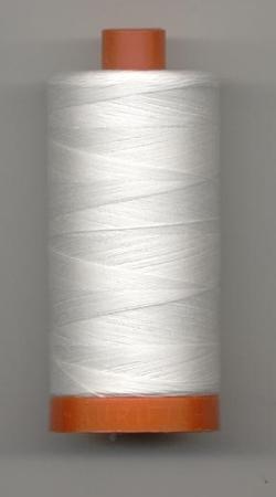Aurifil Quilting Thread 40, 50 or 80wt Natural White 2021