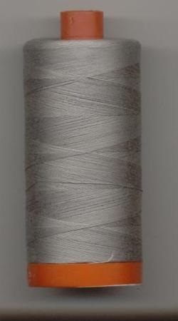 Aurifil Quilting Thread 40, 50 or 80wt Stainless Steel 2620