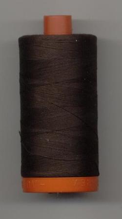 Aurifil Quilting Thread 40, 50 or 80wt Very Dark Bark 1130