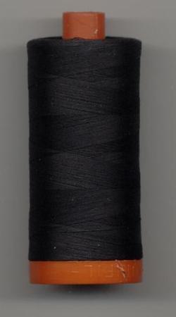 Aurifil Quilting Thread 40, 50 or 80wt Very Dark Grey 4241