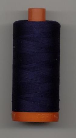 Aurifil Quilting Thread 40, 50 or 80wt Very Dark Navy 2785