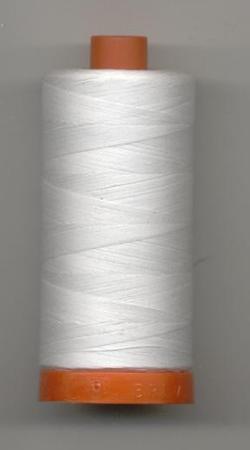 Aurifil Quilting Thread 40, 50 or 80wt White 2024
