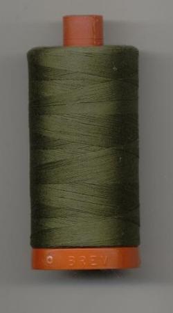Aurifil Quilting Thread 40 or 50wt Army Green 2905