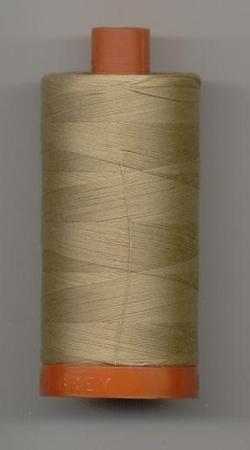Aurifil Quilting Thread 40 or 50wt Beige 5010