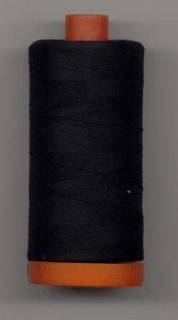Aurifil Quilting Thread 40 or 50wt Black 2692