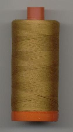 Aurifil Quilting Thread 40 or 50wt  Brass 2975