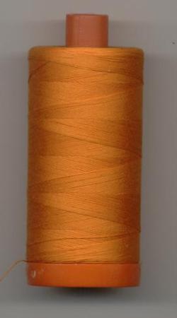Aurifil Quilting Thread 40 or 50wt Burnt Orange 1133