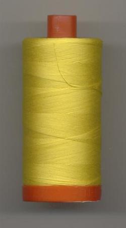 Aurifil Quilting Thread 40 or 50wt Canary 2120