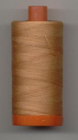 Aurifil Quilting Thread 40 or 50wt Caramel 2210