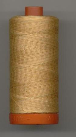 Aurifil Quilting Thread 40 or 50wt Creme Brule Verigated 4150