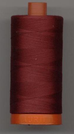Aurifil Quilting Thread 40 or 50wt Dark Carmine Red 2460