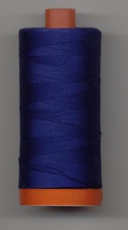 Aurifil Quilting Thread 40 or 50wt Dark Delft Blue 2780