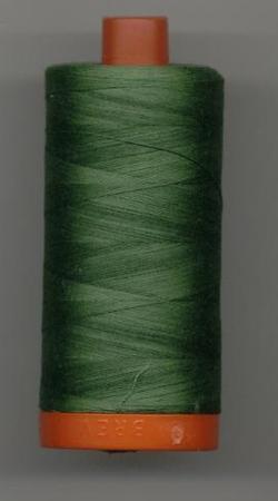 Aurifil Quilting Thread 40 or 50wt Dark Grass Green