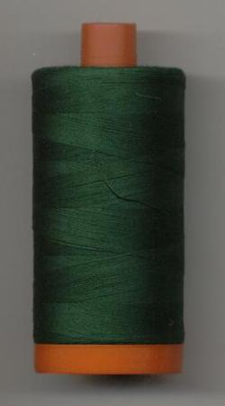 Aurifil Quilting Thread 40 or 50wt Forest Green 4026