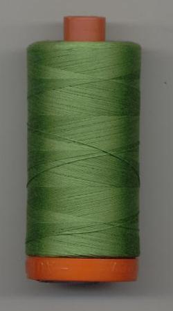 Aurifil Quilting Thread 40 or 50wt Grass Green 1114
