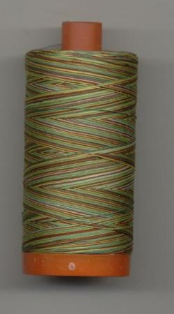 Aurifil Quilting Thread 40 or 50wt Leaves Verigated 4650