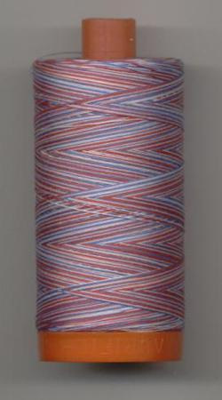 Aurifil Quilting Thread 40 or 50wt Liberty Verigated 3852