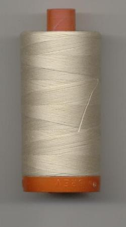 Aurifil Quilting Thread 40 or 50wt Light Beige 2310